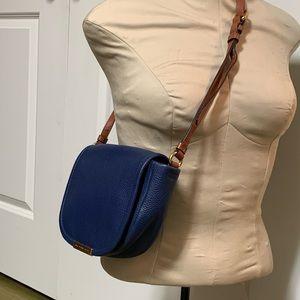 Marc Jacobs Blue Gold Sadat Crossbody Shoulder Bag